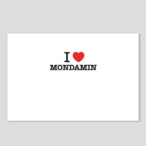 I Love MONDAMIN Postcards (Package of 8)